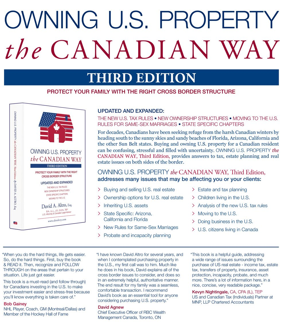 Us health insurance for canadians living in the us owning us property the canadian way third edition 2013 platinumwayz