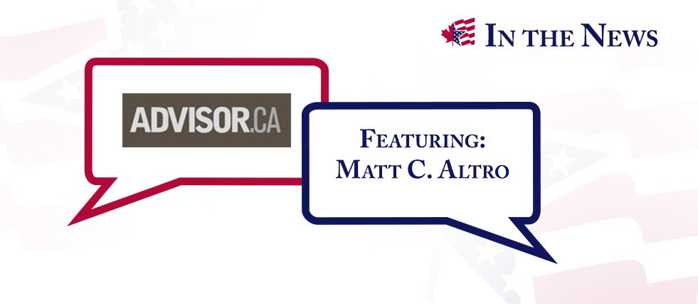Advisor fatca squeezes american clients matt c altro was recently interviewed for an article which appeared on advisor in the article matt addresses what us citizens living in canada should platinumwayz