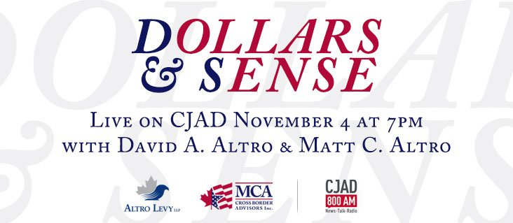 November 2014 MCA-Radio Dollar & Sense CJAD