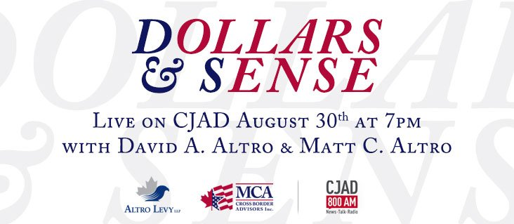 August 2016 – Dollars and Sense Radio Show on CJAD